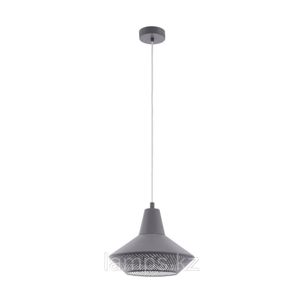 Светильник подвесной PIONDRO, сталь HL  1 E27 GRAU