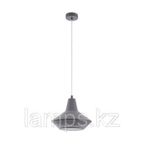 Светильник подвесной PIONDRO, сталь HL  1 E27 GRAU  , фото 2