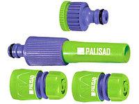 """Набор для подключения шланга 3/4"""" (распылитель 3 адаптера к распылителю) PALISAD 65179 (002)"""