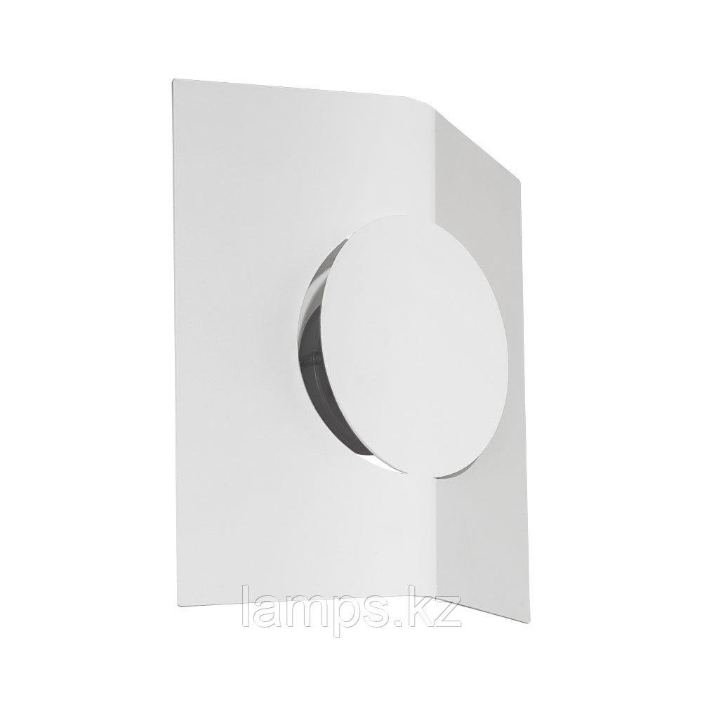 Светильник настенно-потолочный SAKEDA, сталь, пластик LED-WL WEISS/SATINIERT