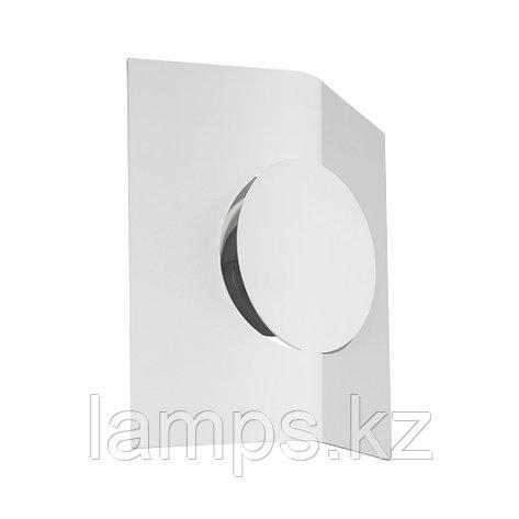 Светильник настенно-потолочный SAKEDA, сталь, пластик LED-WL WEISS/SATINIERT, фото 2