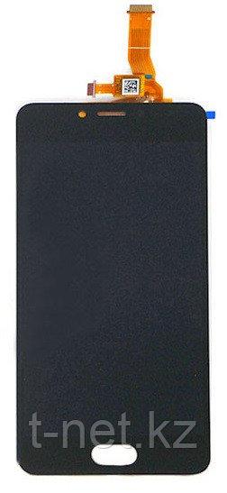 Дисплей Meizu M5c в сборе, с сенсором цвет черный