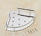 Угловая полка одинарная хром, фото 3