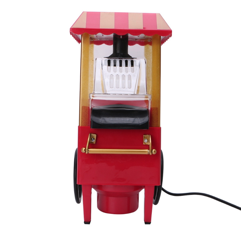 Аппарат для попкорна на колесах Ретро (Nostalgia).