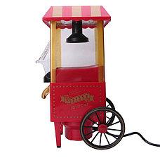 Аппарат для попкорна на колесах Ретро (Nostalgia)., фото 3
