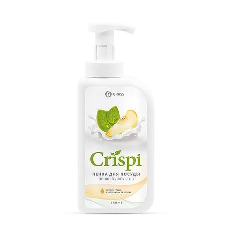 Средство для мытья посуды  CRISPI ПЕНКА  с соком груши и экстрактом базилика  , фото 2