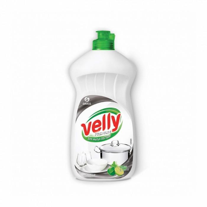 Средство для мытья посуды Velly Premiumлайм и мята