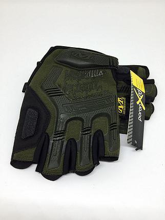 Перчатки тактические M-Pact Glove без пальцев, фото 2