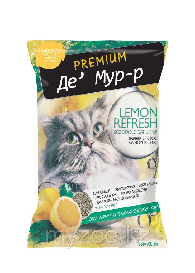 "De' Мур-р (""Де' Мур-р"") 10 л -8кг, бентонит, лимон"