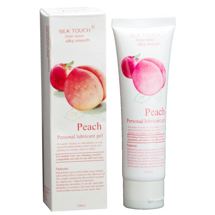Silk Touch - оральная смазка со вкусом персика (100 ml.)