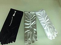 Атласные вечерние перчатки