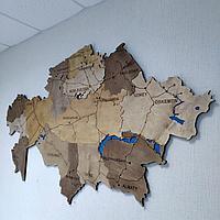 Карта КАЗАХСТАНА!