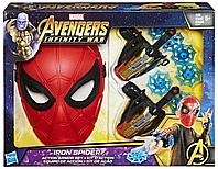 Игровой набор Маска и насадки стреляющие «Человек-паук» Spider-man