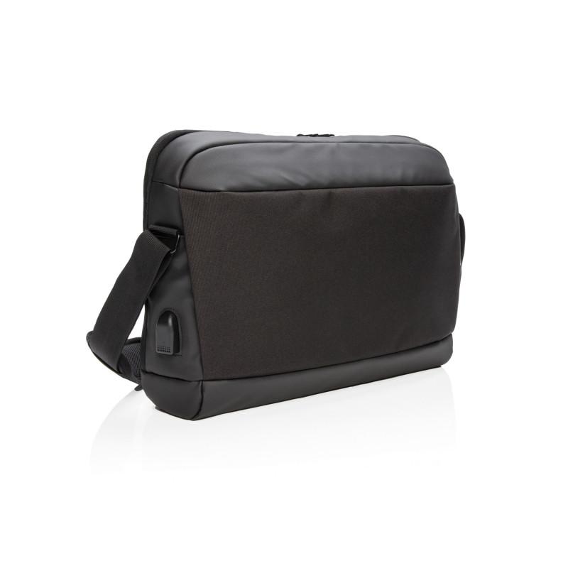 """Сумка Madrid для ноутбука с защитой RFID, 15,6"""", черный, Длина 43 см., ширина 9 см., высота 32 см., P732.361"""
