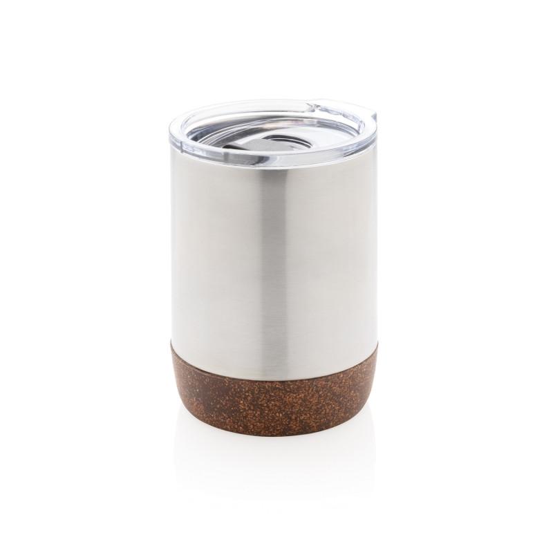 Вакуумная термокружка Cork для кофе, 180 мл, серебряный, , высота 10 см., диаметр 7,2 см., P432.262