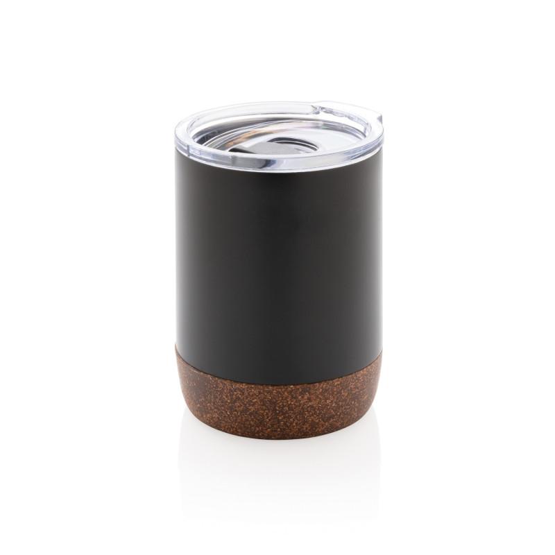 Вакуумная термокружка Cork для кофе, 180 мл, черный, , высота 10 см., диаметр 7,2 см., P432.261