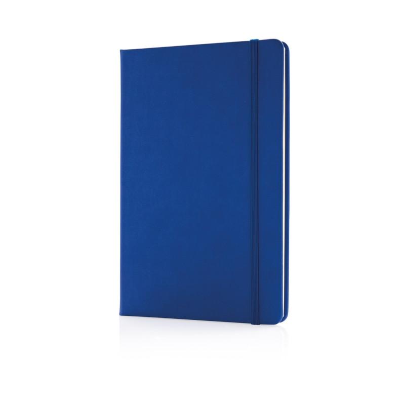 Блокнот Deluxe в твердой обложке A5, синий, Длина 1,5 см., ширина 14,5 см., высота 21,5 см., P773.420