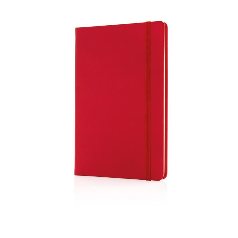 Блокнот Deluxe в твердой обложке A5, красный, Длина 1,5 см., ширина 14,5 см., высота 21,5 см., P773.424
