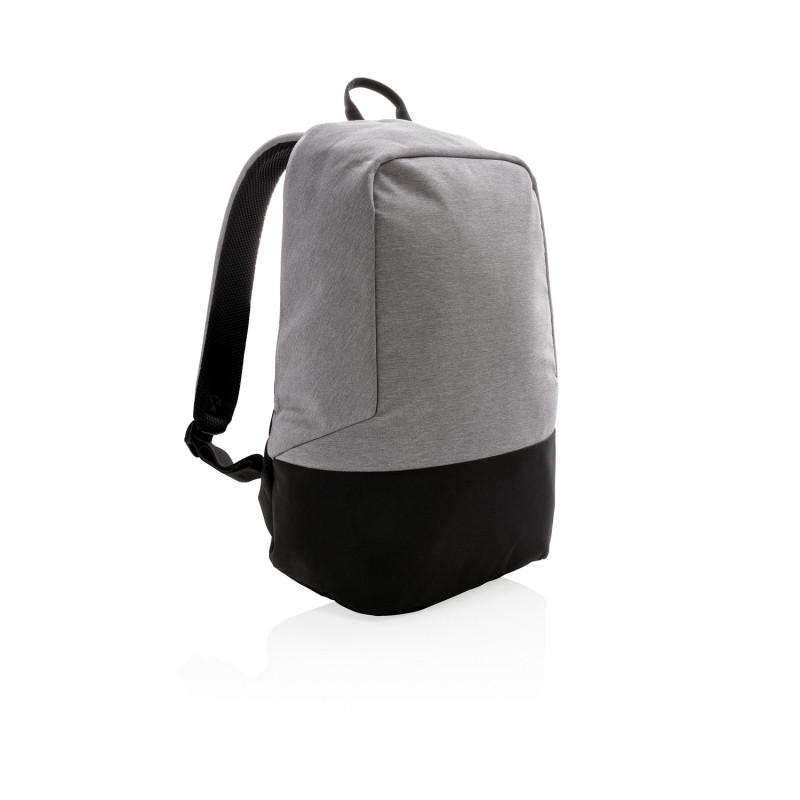Стандартный антикражный рюкзак, без ПВХ, серый; черный, Длина 35 см., ширина 13 см., высота 45 см., P762.482