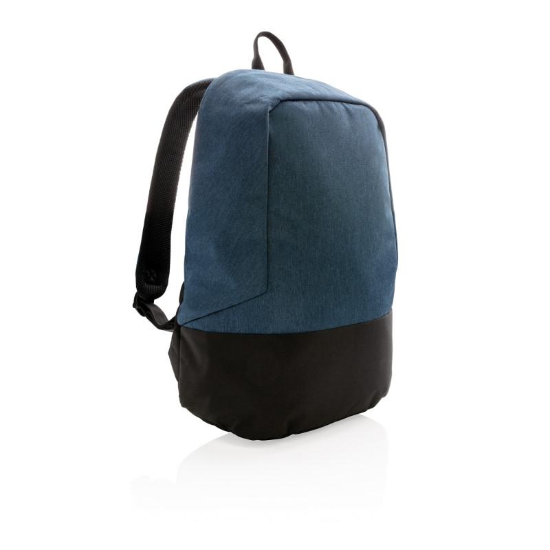 Стандартный антикражный рюкзак, без ПВХ, синий; черный, Длина 35 см., ширина 13 см., высота 45 см., P762.485