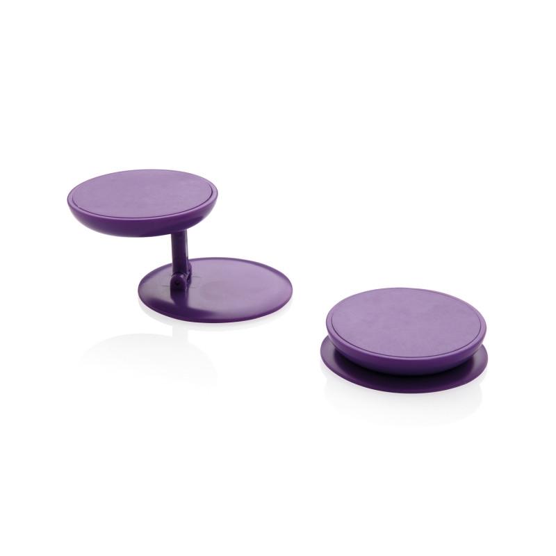 Универсальный держатель для телефона Stick n Hold, фиолетовый, , высота 0,8 см., диаметр 4 см., P324.770