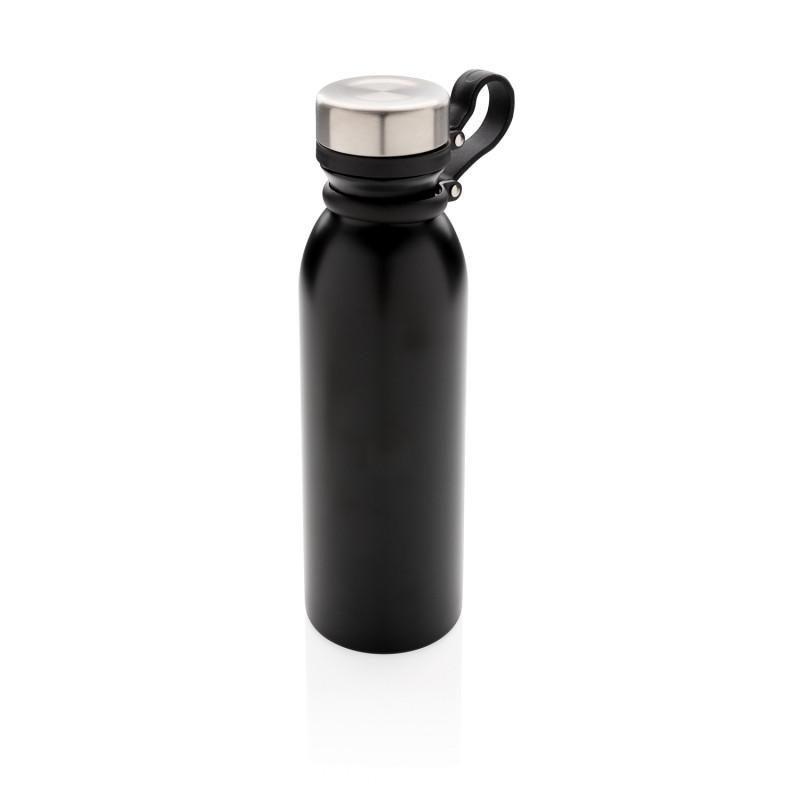 Вакуумная бутылка Copper с петлей, 600 мл, черный, , высота 25,5 см., диаметр 7,1 см., P436.711