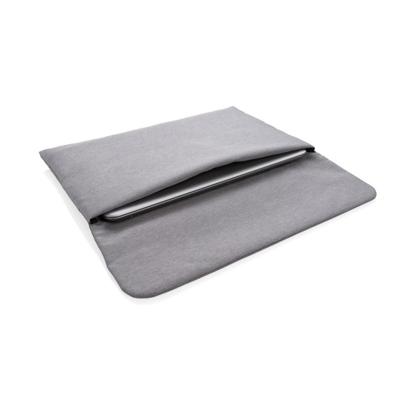 """Чехол на магнитной застежке для ноутбука 15,6"""", без ПВХ, серый, Длина 43 см., ширина 29 см., высота 1 см.,"""