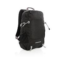 Рюкзак Outdoor с RFID защитой, без ПВХ, черный; серый, Длина 32 см., ширина 16 см., высота 47,5 см., P762.491, фото 1