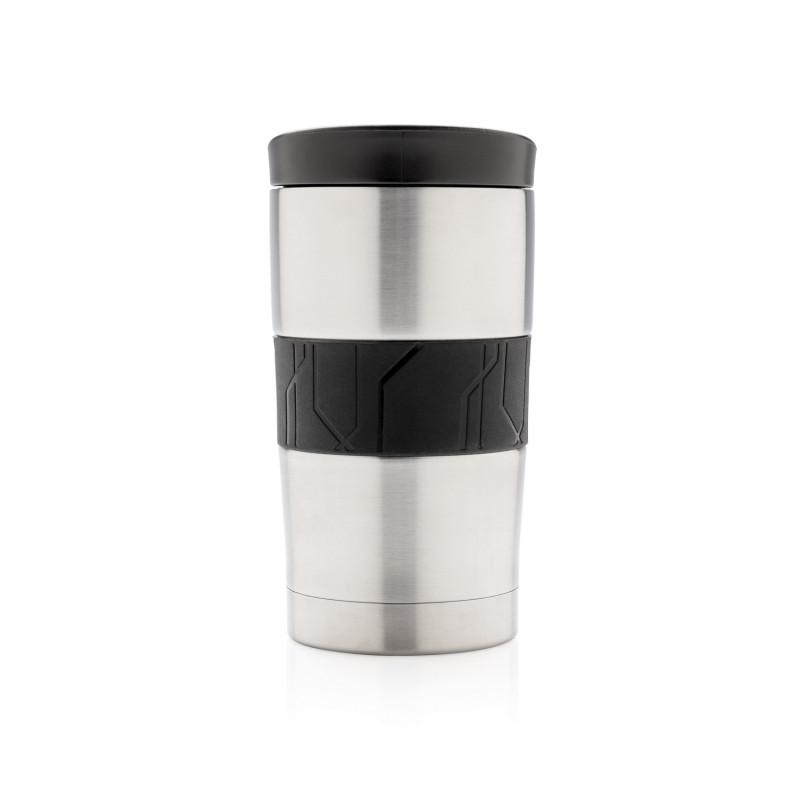Вакуумная термокружка для кофе, 300 мл, серебряный, , высота 14,5 см., диаметр 7,7 см., P432.742