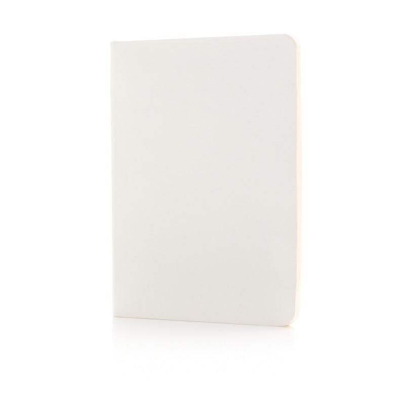 Блокнот Standard в мягкой обложке, белый, Длина 17,7 см., ширина 12,4 см., высота 1 см., P772.093
