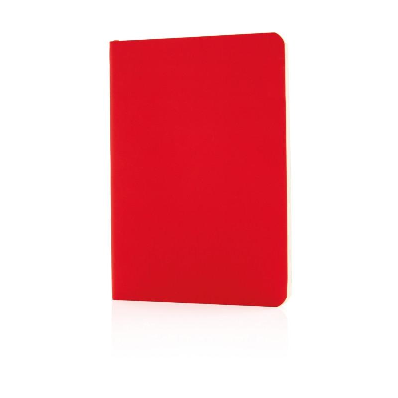 Блокнот Standard в мягкой обложке, красный, Длина 17,7 см., ширина 12,4 см., высота 1 см., P772.094