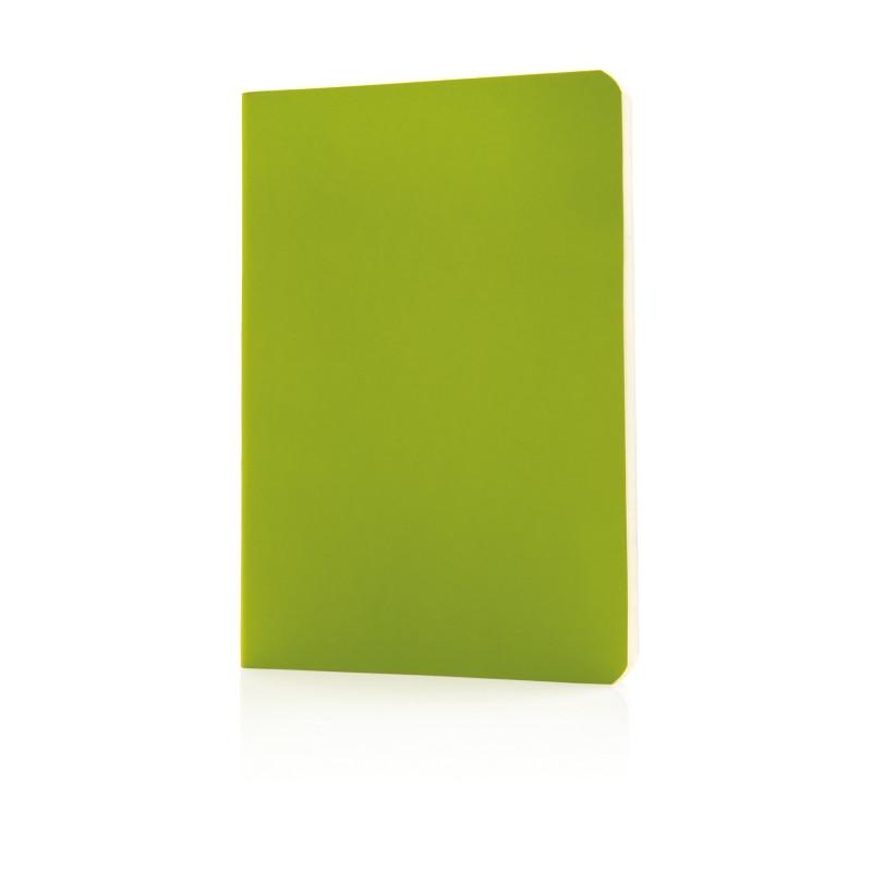 Блокнот Standard в мягкой обложке, зеленый, Длина 17,7 см., ширина 12,4 см., высота 1 см., P772.097