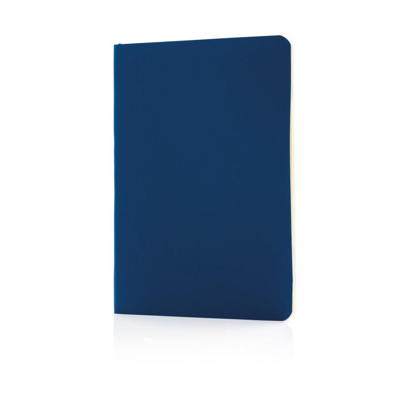 Блокнот Standard в мягкой обложке, темно-синий, Длина 17,7 см., ширина 12,4 см., высота 1 см., P772.099