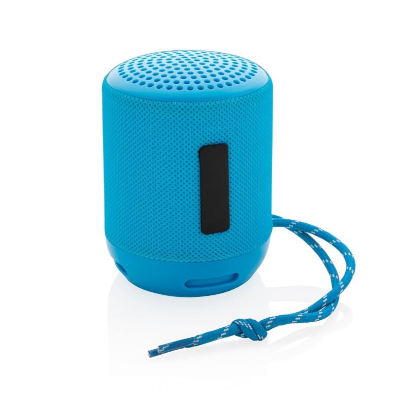 Водонепроницаемая беспроводная колонка Soundboom мощностью 3W, синий, Длина 7,3 см., ширина 7,3 см., высота