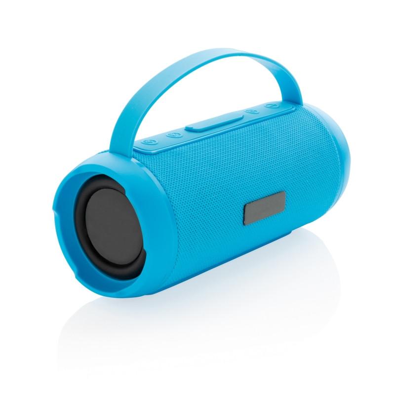 Водонепроницаемая беспроводная колонка Soundboom мощностью 6W, синий, Длина 19 см., ширина 8 см., высота 8
