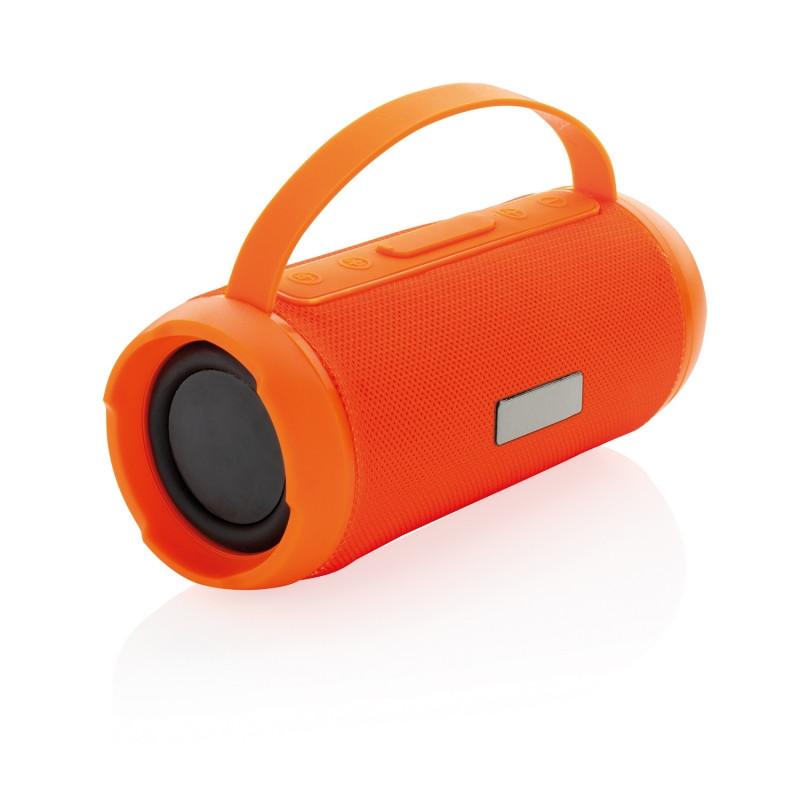 Водонепроницаемая беспроводная колонка Soundboom мощностью 6W, оранжевый, Длина 19 см., ширина 8 см., высота 8