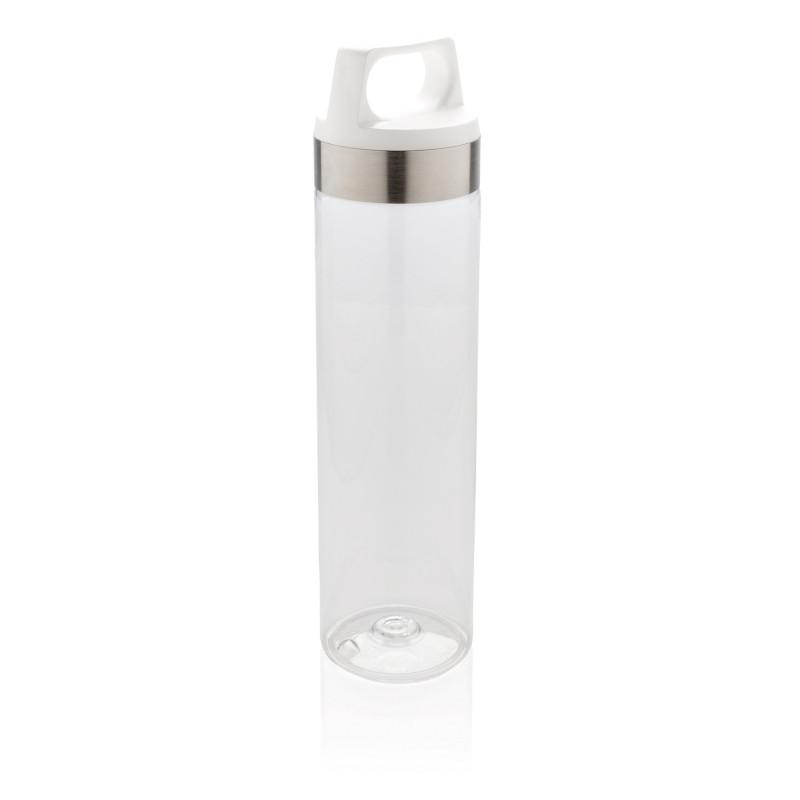 Стильная бутылка для воды Tritan, белая, белый, , высота 25,7 см., диаметр 6,6 см., P436.863