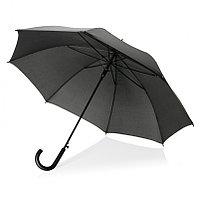 """Автоматический зонт-трость, 23"""", черный, черный, , высота 83 см., диаметр 115 см., P850.521, фото 1"""