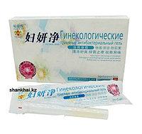 """Травяной антибактериальный гель """"Fu Yan Kang"""" для восстановления микрофлоры влагалища"""