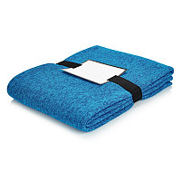 Плед Luxury, синий, Длина 150 см., ширина 120 см., высота 0,4 см., P459.645, фото 1