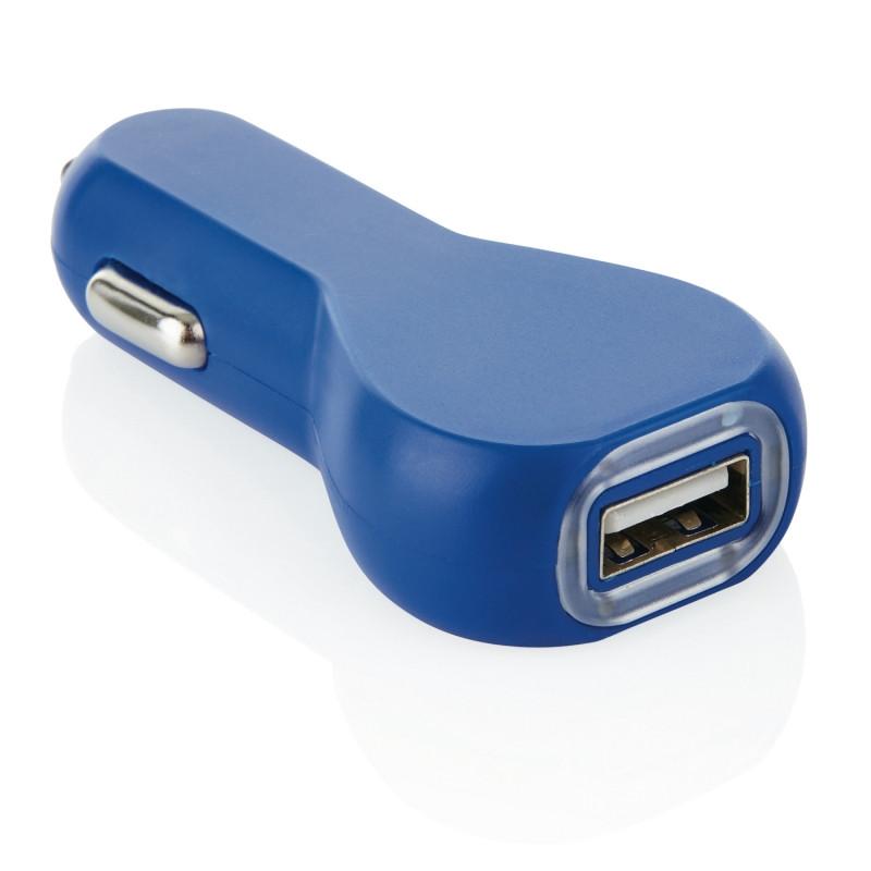 Зарядное устройство для автомобиля, синий, Длина 1,5 см., ширина 3,5 см., высота 7,4 см., P302.885