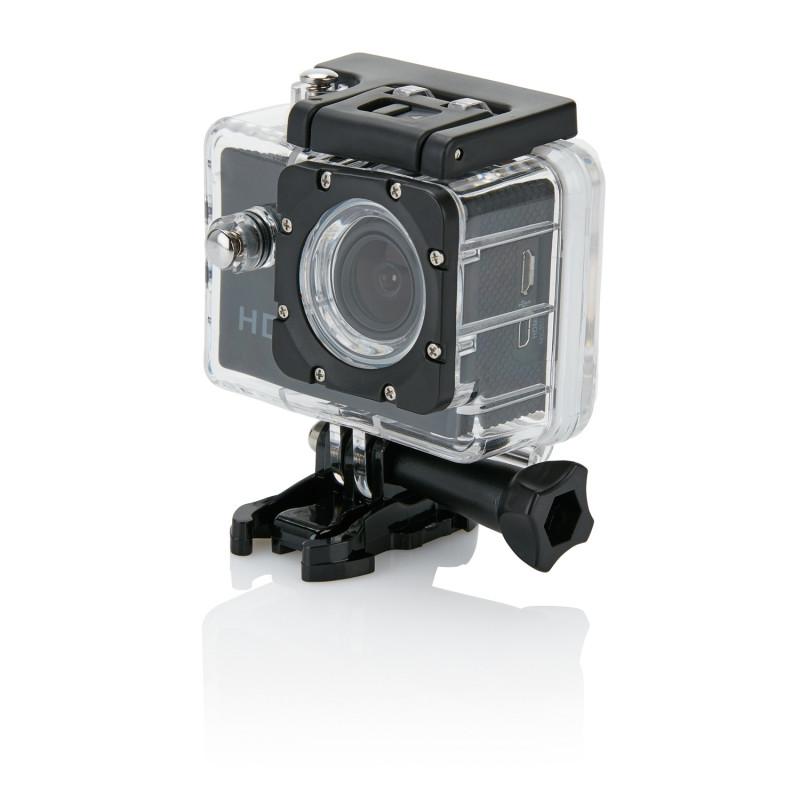 Спортивная экшн-камера, черный, черный, Длина 4,1 см., ширина 5,9 см., высота 3 см., P330.051