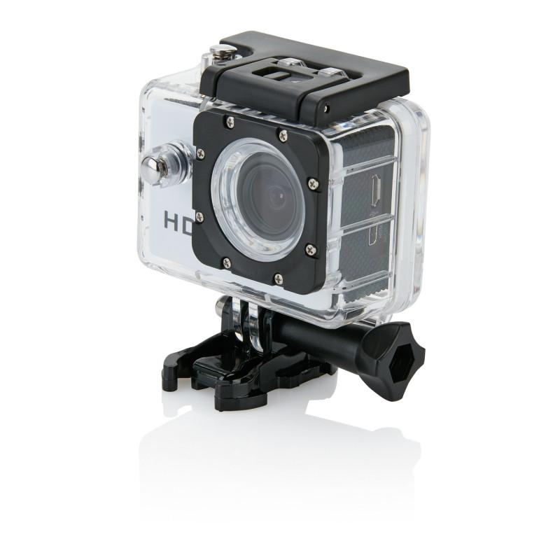 Спортивная экшн-камера, белый, белый; черный, Длина 4,1 см., ширина 5,9 см., высота 3 см., P330.053