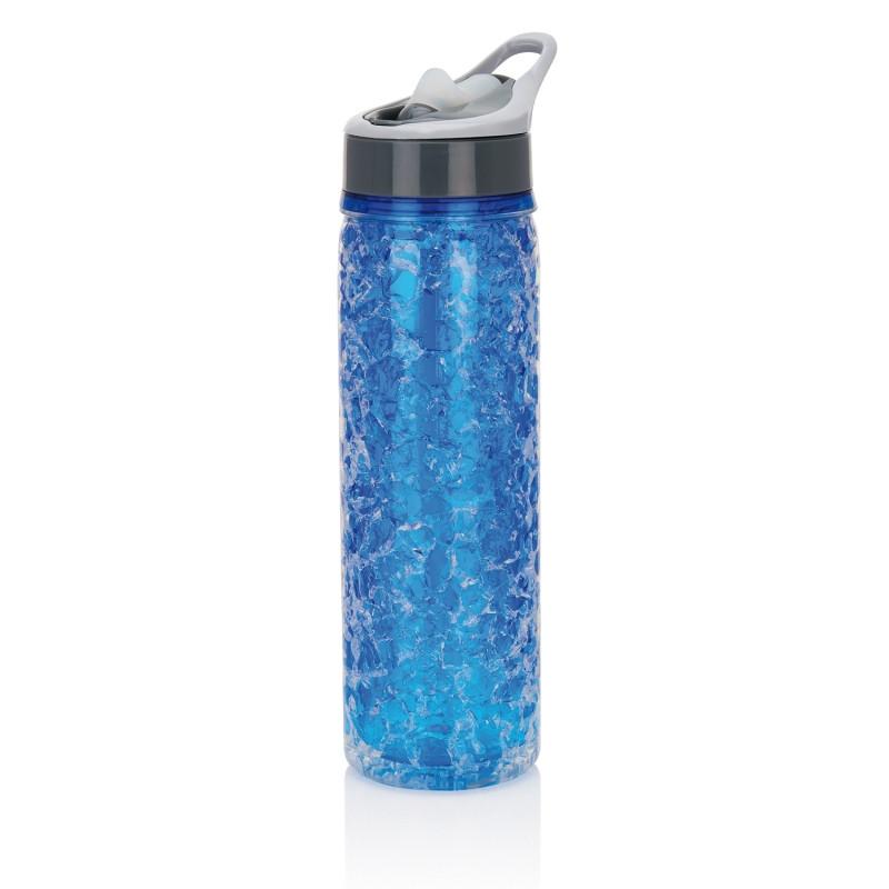 Бутылка Frost, 550 мл, синий; серый, , высота 27,5 см., диаметр 7,5 см., P432.755