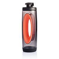 Бутылка для воды Bopp Sport, 550 мл, красный; черный, , высота 24,1 см., диаметр 6,8 см., P436.034