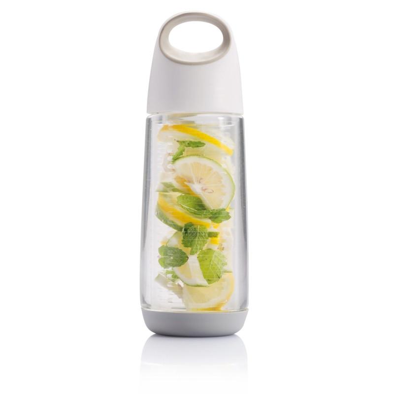 Бутылка для воды Bopp Fruit, 650 мл, белый; серый, , высота 25 см., диаметр 8 см., P436.143