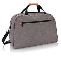 Дорожная сумка Fashion duo tone, серый, Длина 27 см., ширина 38 см., высота 58 см., P707.221, фото 1