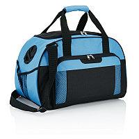 Дорожная сумка Supreme, синий; черный, Длина 24,5 см., ширина 29 см., высота 46 см., P707.340