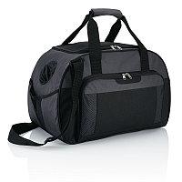 Дорожная сумка Supreme, темно-серый; черный, Длина 24,5 см., ширина 29 см., высота 46 см., P707.342, фото 1