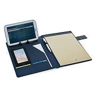 Папка для документов Basic, синий; черный, Длина 1,5 см., ширина 25 см., высота 31 см., P772.105, фото 1